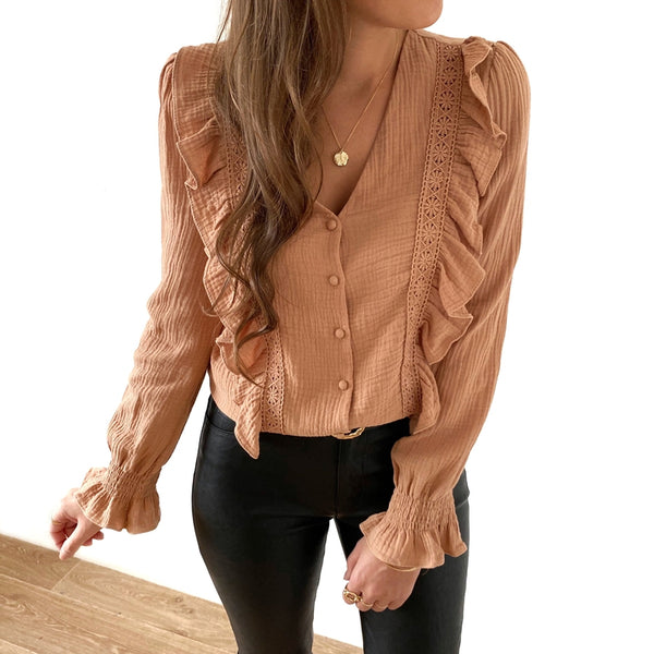 "Blouse ""Molly"" Camel"