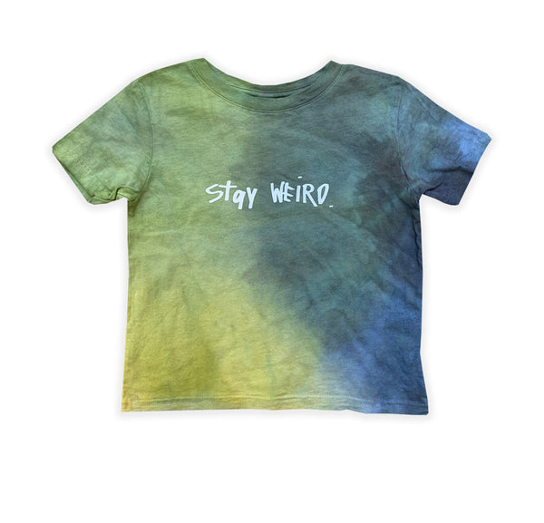 Stay Weird - Tie-Dye Toddler 24-Months