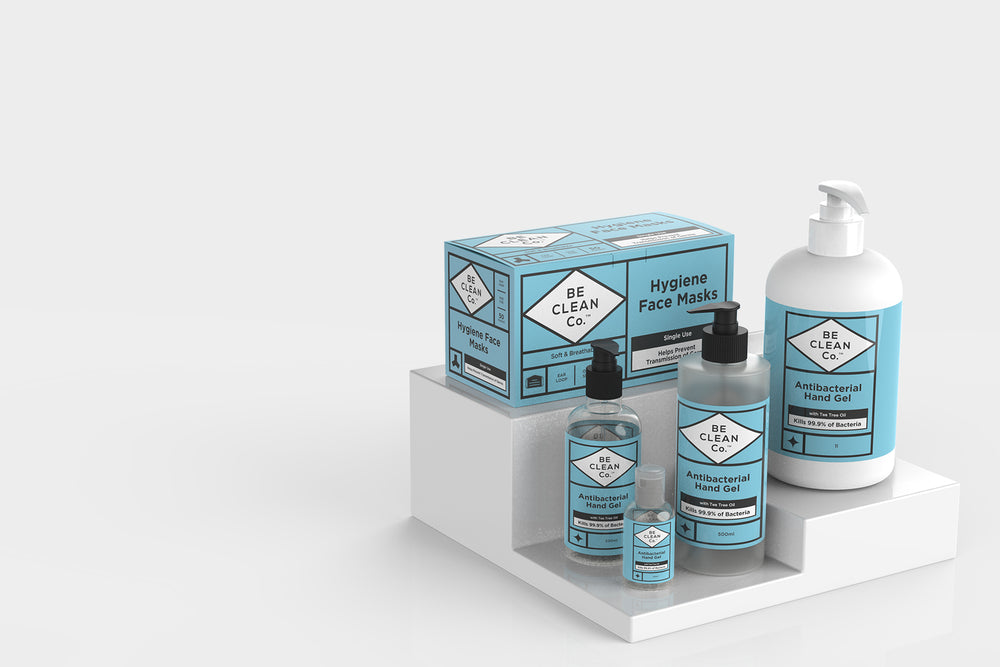 Be Clean Co product Range