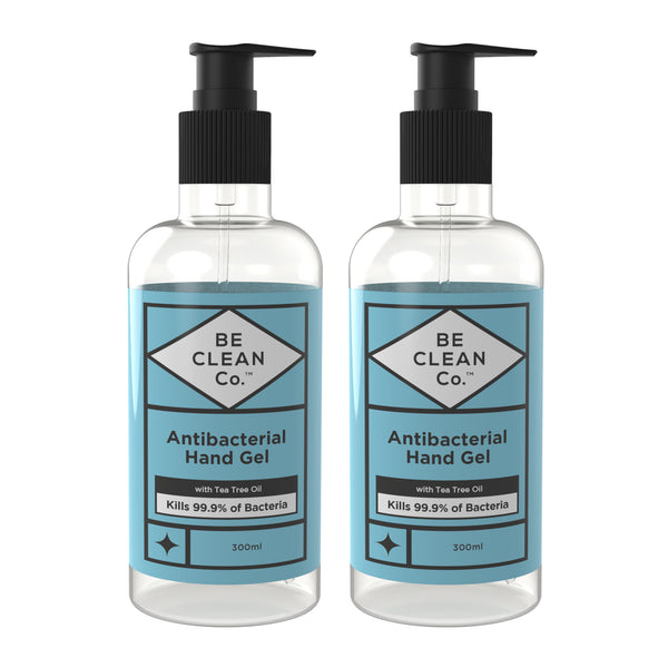 Anti Bacterial Hand Gel - 300ml Twin Pack