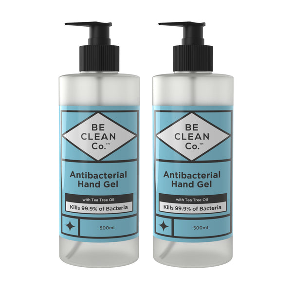 Anti Bacterial Hand Gel - 500ml Twin Pack