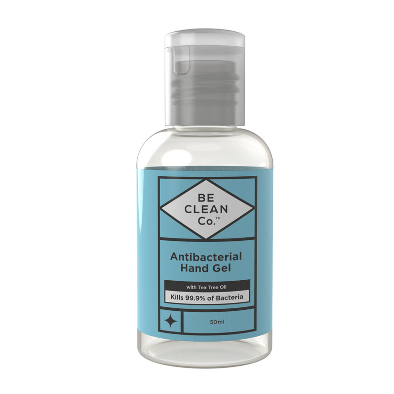 Be Clean Co 50ml Antibacterial Hand Gel
