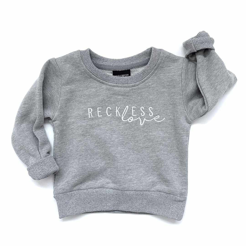 Chandail manches longues - Reckless Love-little bipsy-Boutique Béluga