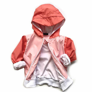 Coupe-vent imperméable rose-Little Bipsy-Boutique Béluga