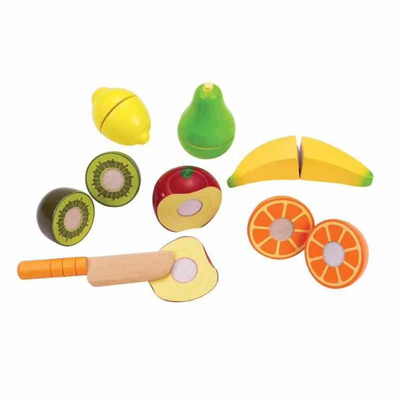 Ensemble d'aliments en bois - fruits-Hape-Boutique Béluga