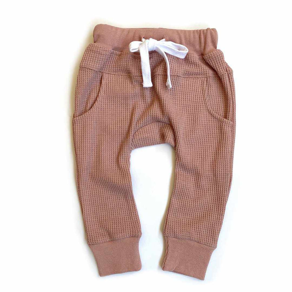 Pantalon mou thermique - Rose-Little Bipsy-Boutique Béluga