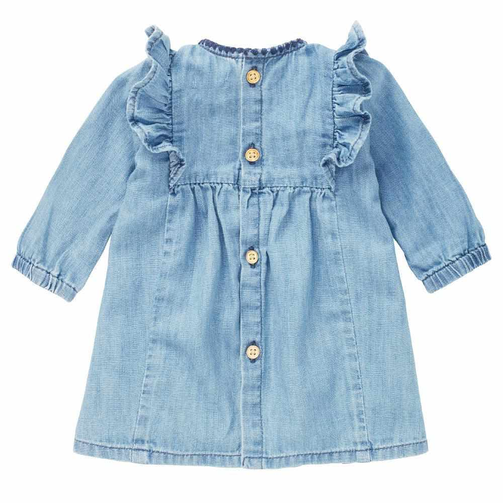 Robe de denim - Bleu Pâle-noppies-Boutique Béluga