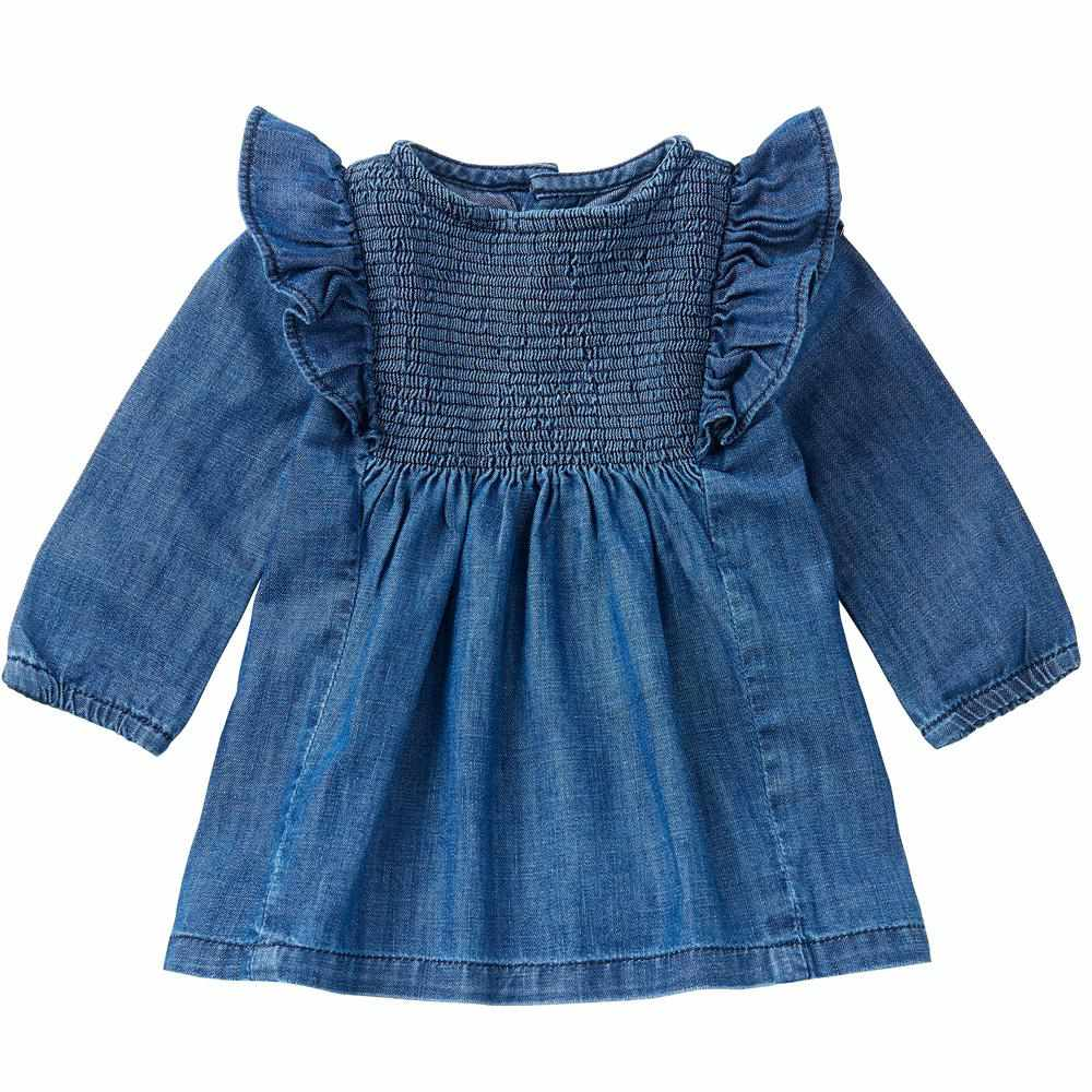 Robe de jeans souple - À volants-Noppies-Boutique Béluga