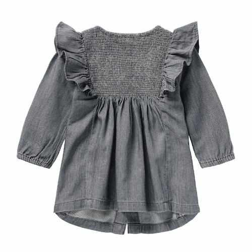 Robe denim - gris-noppies-Boutique Béluga