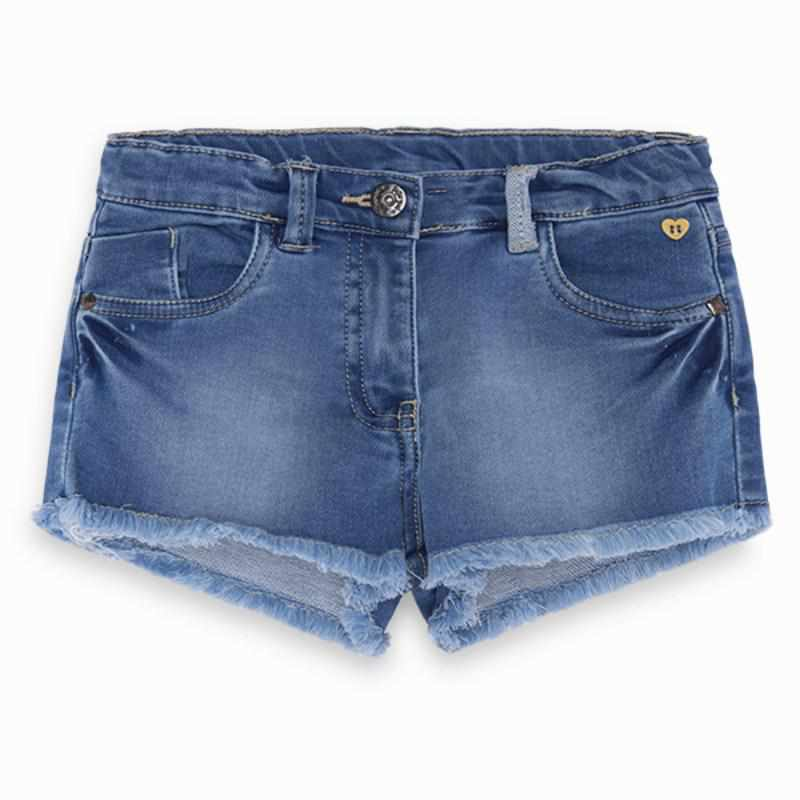 Short effiloché en denim-Tuctuc-Boutique Béluga