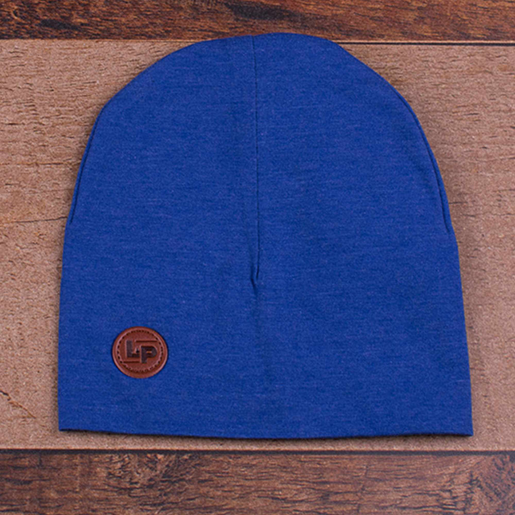 Tuque Boston en coton - Bleu-L&P-Boutique Béluga