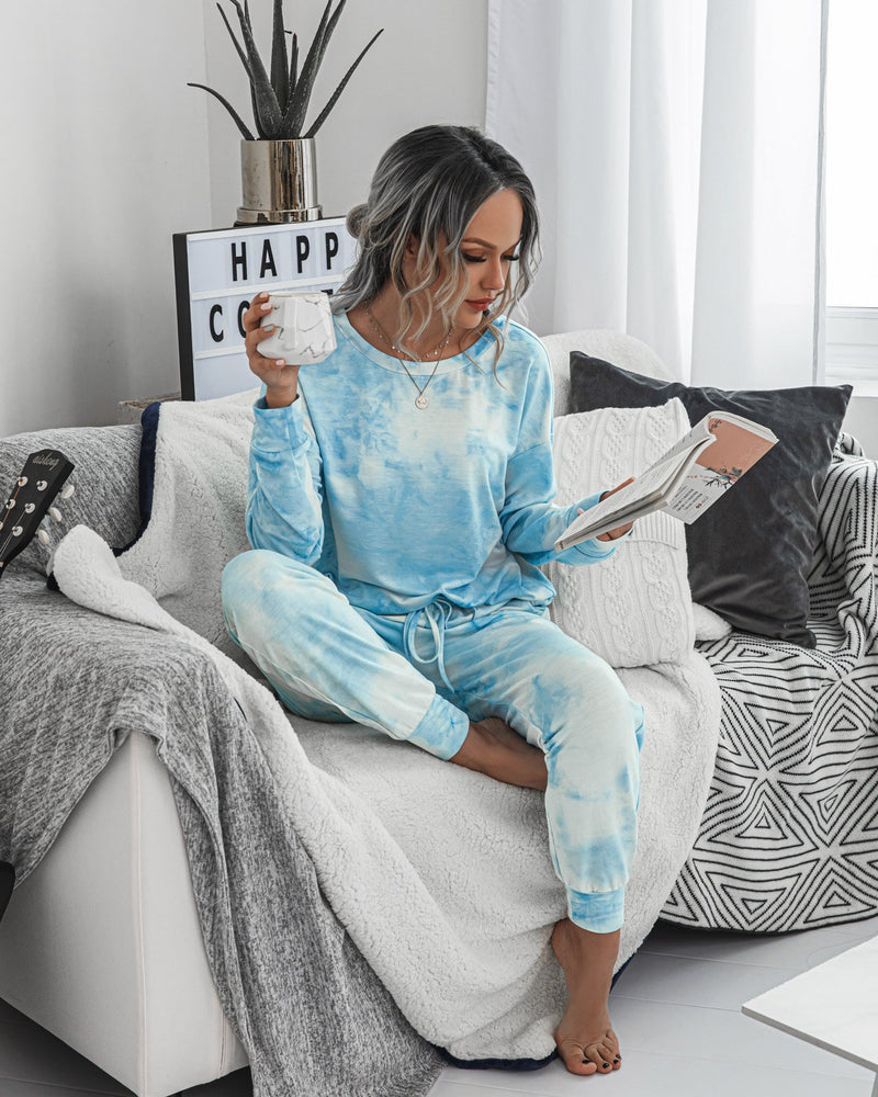 Bright mornings Tie Dye Loungewear