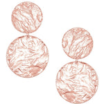 Carla Double Discs Statement Earring