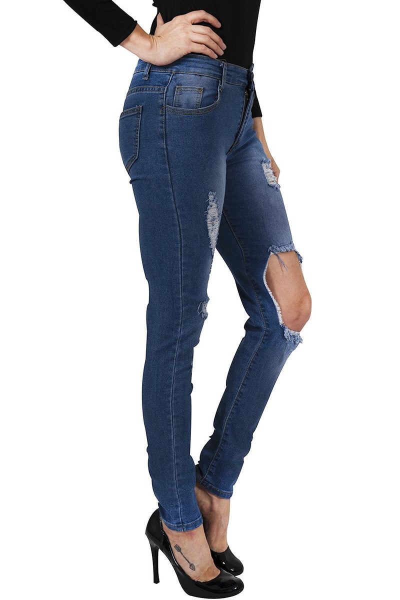 Usher Distressed Jeans