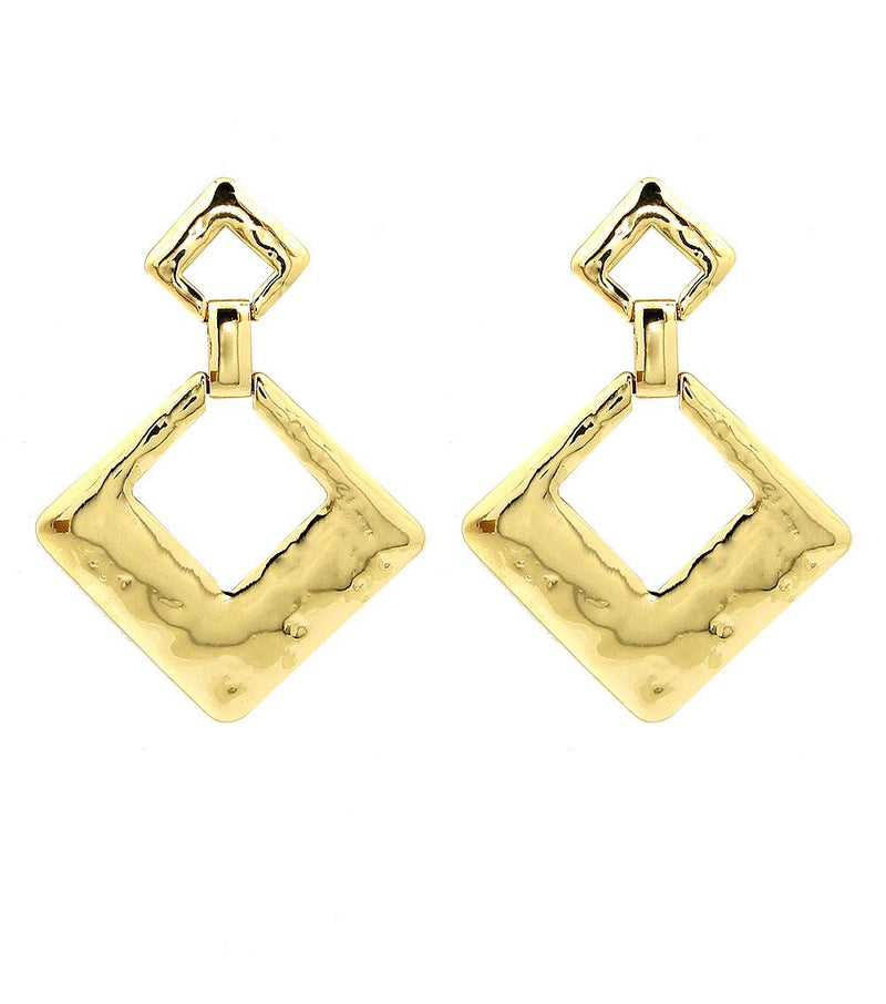 City Babe Gold Earrings