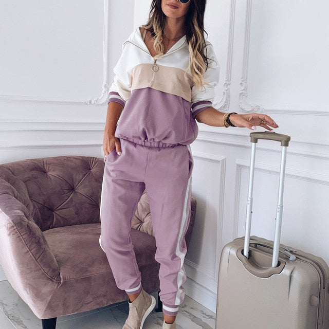 Soft Spoken Tracksuit Loungewear set
