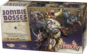 Zombicide Black Plague Abomination Pack - Zombie Bosses