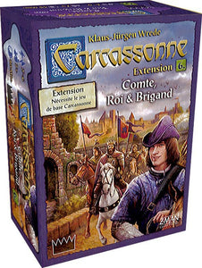 CARCASSONNE EXTENSION N°6 COMTE ROI ET BRIGANDS