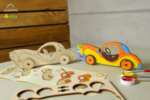 Coloring Voiture 8Pcs