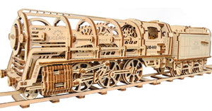 Locomotive Vapeur + Wagon 443Pcs