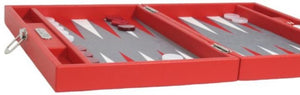 Backgammon Basile Medium Rouge