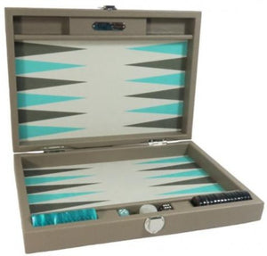 Backgammon Basile Medium Terre