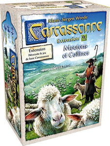 CARCASSONNE EXT. N°9 MOUTONS ET COLLINES