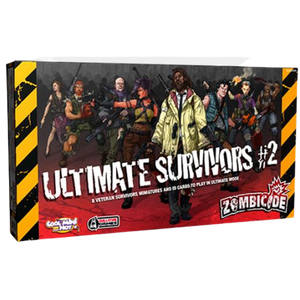 Zombicide Ultimate Survivors & Expérience Cards