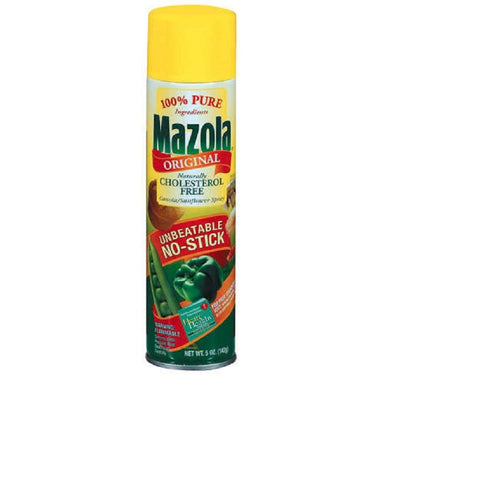 Mazola Original Spray 5 oz - 6 Unit Pack