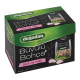 Dogadan Buyulu Bohca Gullu Yesil Cay 16'Li - Green Tea With Rose 16 Tea Bags
