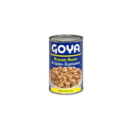 Goya Premium Roman Beans 15.5 oz (Pack of 12)