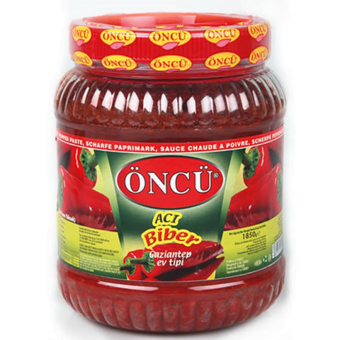 Oncu Biber Salcasi Aci / Pepper Paste Hot 1850 gr