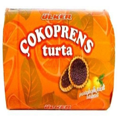 Cookie with Orange Filling - (280 gr) - Turta