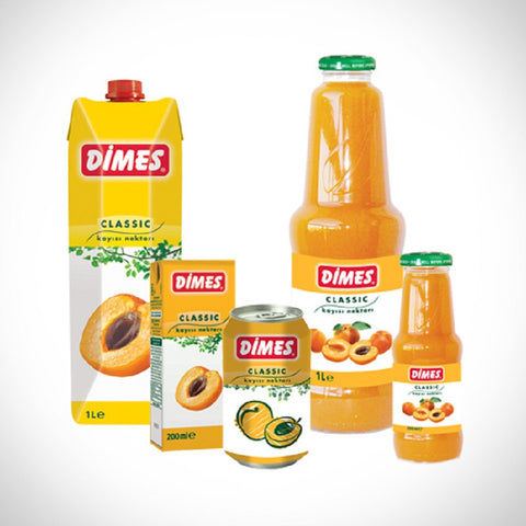 Dimes Apricot 330 ml Can - Kayisi Suyu
