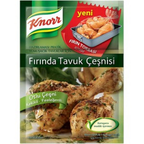 Knorr Firinda Tavuk Cesni (Dag Kekikli & Susamli) / Chicken Seasonings - 35 gr