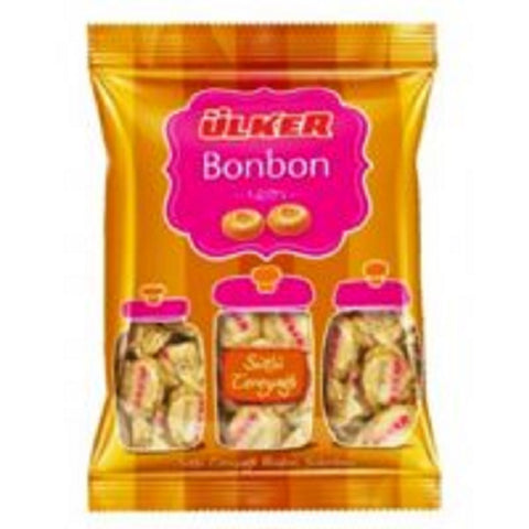 Ulker Bonbon Hard Candy Milk + Butter 350 g