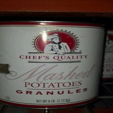 Chef's Quality: Mashed Potato Granules 6/6 Lb. Case