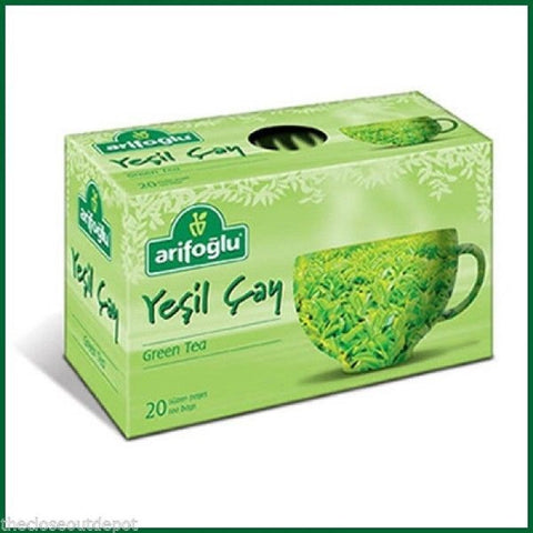 Organic Green Herbal Tea Arifoglu 20 Tea Bags
