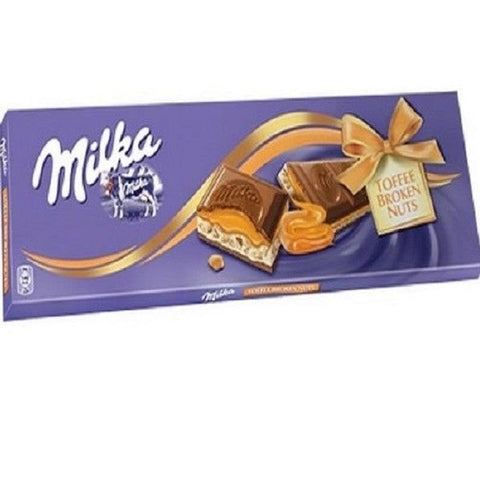 Milka Toffee Broken Nuts 250 gr