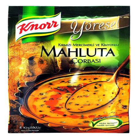 Knorr Yoresel MAHLUTA Corbasi / Traditional Turkish Soup - 95 gr
