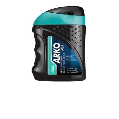 Arko Aftershave Balm, Aqua, 5 Ounce