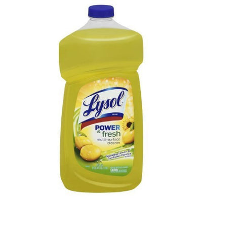 Lysol 78626 40 Oz. Lemon Breeze All Purpose Cleaners (Case of 9)