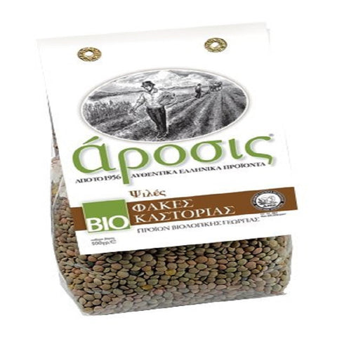 Organic Greek Small Lentils from Kastoria