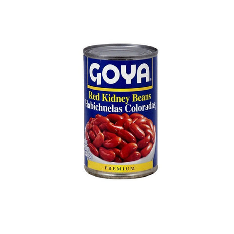 Goya Premium Red Kidney Beans 15.5 oz (Pack of 12)