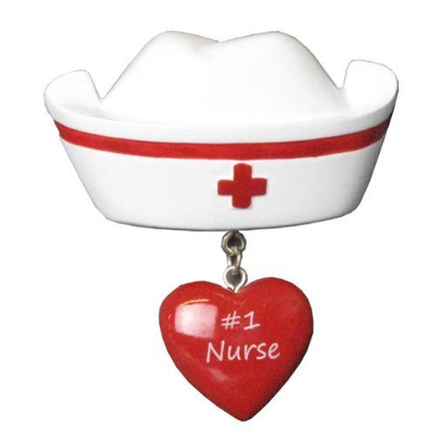 Best Medical Nurse Personalized Christmas Tree Ornament by Polar X