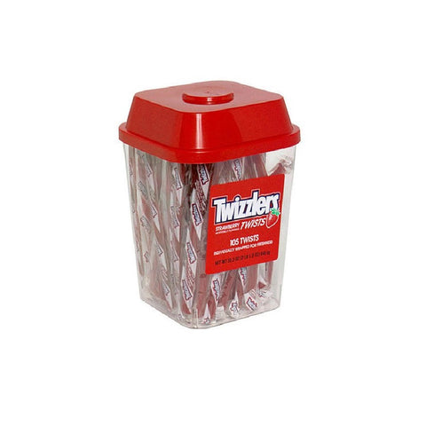 Twizzlers Tub - 105 per Pack by SmileMakers Inc [Foods]
