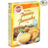 Panni Shredded Potato Pancakes, 5.8-Ounce Boxes (Pack of 12)  from Panni