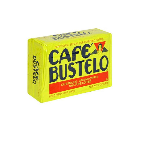 Cafe Bustelo Coffee Espresso, 10-Ounce Bricks (Pack of 4)