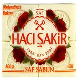 Haci Sakir Rose Soap - 4 x 7oz