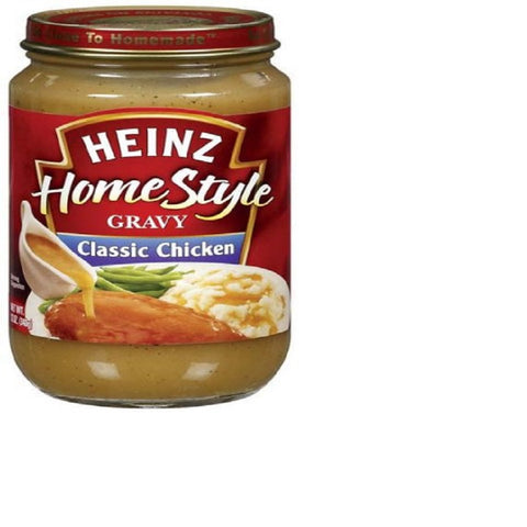 Heinz Home Style Classic Chicken Gravy 12 oz (Pack of 12)